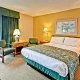 Dayton House Resort 1 queen room parking lot view