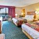 Dayton House Resort 2 queen room poolside