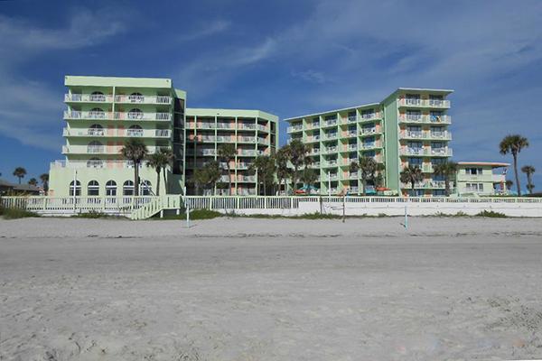 El Caribe Resort View From Beach