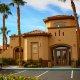 Desert Paradise Resort entrance