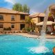 Desert Paradise Resort pool waterfall