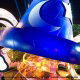 Iconic Fantasia hat on display at Disney\'s Hollywood Studio in Orlando Florida.