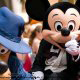 Mickey Mouse greets visitors to Disney\'s Hollywood Studio in Orlando Florida.