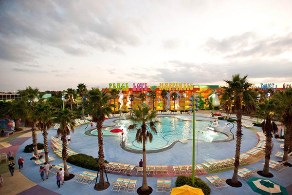 1299 Orlando Disney Pop Century Resort 7 Day Family