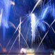 Fireworks are a daily part of the entertainment at Walt Disney\'s Epcot in Orlando Florida.