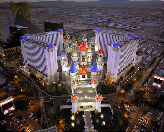 The Excalibur Hotel In Vegas