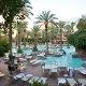 Flamingo Las Vegas Hotel & Casino pool area