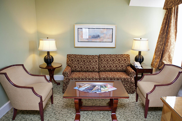 Francis Marion Hotel sitting area