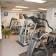 Francis Marion Hotel fitness room elipticals
