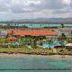 Aerial view of Gran Melia Gulf Resort, Rio Grande, Puerto Rico.