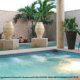 Outdoor pool at Gran Melia Gulf Resort, Rio Grande, Puerto Rico.