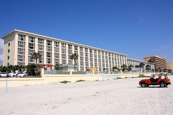 Grand Seas Resort Beach Jeep