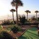 Grand Seas Resort mini-golf sunrise