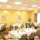 Restaurant View At Hampton Inn & Suites In Orlando / Kissimmee, Florida.