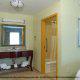 Hotel Bathroom View At Hampton Inn & Suites In Orlando / Kissimmee, Florida.