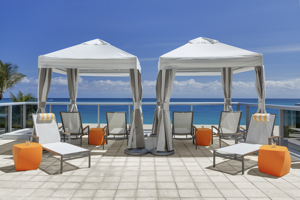 Cabana Rentals Miami Beach Hotels
