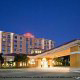 Main Entrance View at Hilton Garden Inn in Orlando, Florida. Enjoy quality accommodations in this charming location during your New Years Family Getaway.