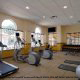 Poolside Fitness Center at Hilton Garden Inn in Orlando, Florida. The resort offers the best value for affordable Presidents Day Family Getaway.