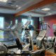 Fitness Center View at Hilton Garden Inn Orlando at SeaWorld in Orlando, Florida. Stay in shape while on your Easter Family Vacation.