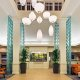 Hilton Garden Inn SeaWorld lobby