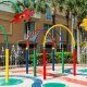 Holiday Inn Resort kiddie splash pad