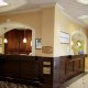 Holiday Inn Express Riverview in Charleston front desk