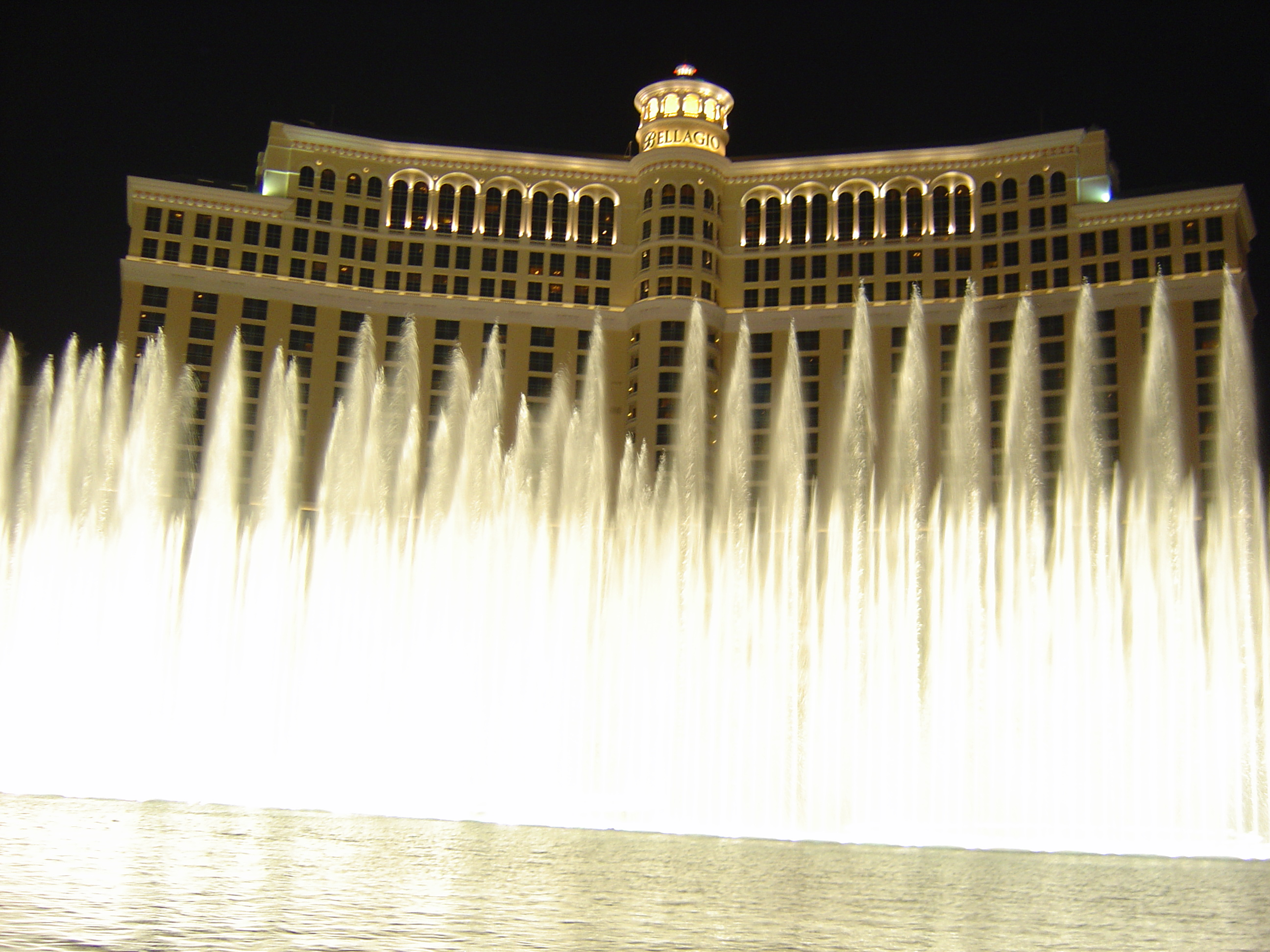 fountains at bellagio, las vegas