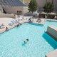 Luxor Hotel pool