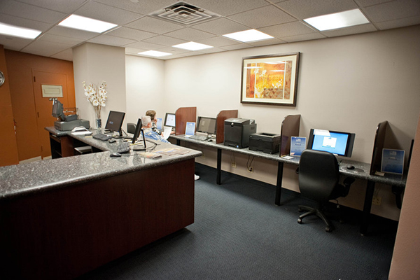 LVH Hotel business center