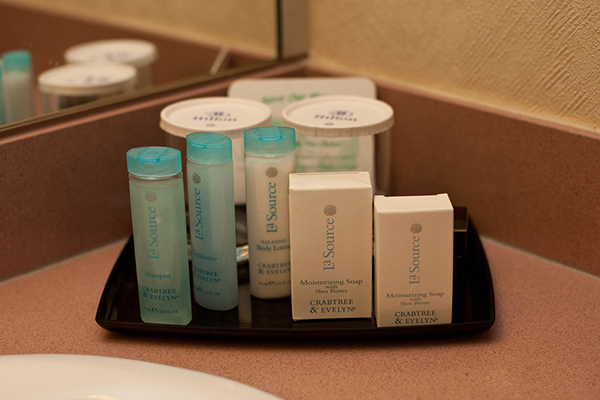 LVH Hotel toiletries side