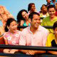 Thunder Mountain ride in Disneys Magic Kingdom Vacation in Orlando Florida.