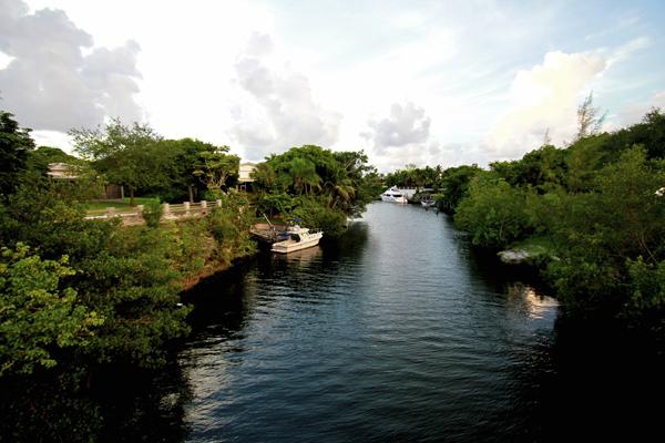 Canal view, Miami Florida