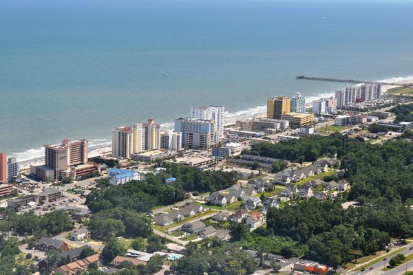 Myrtle Beach - Aerial View