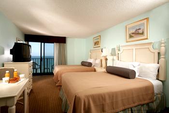 1 Bedroom suites with ocean views at The Best Western Carolinian in Myrtle Beach