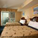 Large double room at The Best Western Carolinian in Myrtle Beach