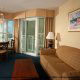 A view of a 1 bedroom suite at The Best Western Carolinian in Myrtle Beach