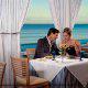 Enjoying a romantic getaway at the Cafe Malfi inside the Myrtle Beach Hilton Resort.
