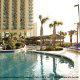 Ocean views from the Hilton\'s pool.