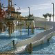 The Hilton in Myrtle Beach has a water park for its guest to enjoy.