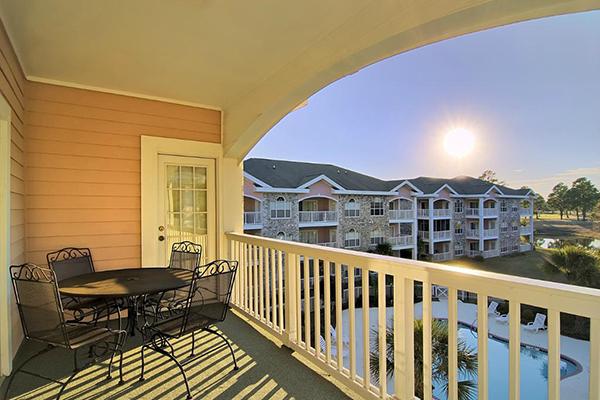 Myrtlewood Villas Balcony View