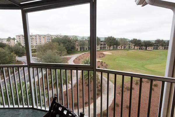 Mystic Dunes Resort and Golf Club balcony view