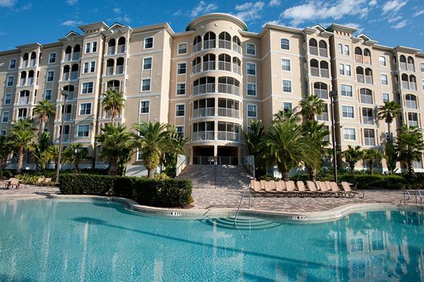 Mystic Dunes Resort and Golf Club pool exterior