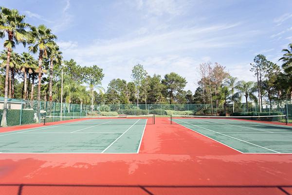 Mystic Dunes Resort and Golf Club tennis court