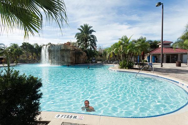 Mystic Dunes Resort and Golf Club waterfall