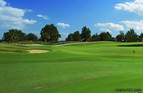 Enjoy the Golf Course at Mystic Dunes Resort & Golf Club in Orlando, Florida.