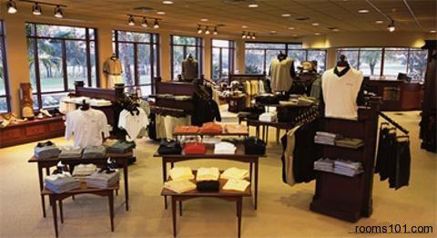 Boutique Store View at Mystic Dunes Resort & Golf Club in Orlando, Florida.