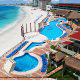 Panoramic View at NH Krystal Cancun Resort in Cancun, Mexico. Invitation for a refreshing time during your Summer Family Vacation.