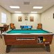 Oakwater Resort pool table