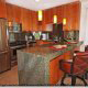 Fully Furnished Kitchen at the Ocean View Vacation Villas in Biloxi, Mississippi.
