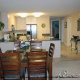 Luxury Dining Room and Kitchen at the Ocean View Vacation Villas in Biloxi, Mississippi.